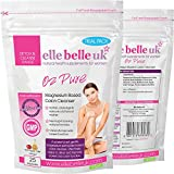 Magnesium Peroxide Colon Cleanse - Elle Belle UK - O2 Pure - Amazing Oxygen Cleansing Formula For Removing Old Compacted Colon Waste Buildup - Has a Colonic Hydrotherapy Effect - 100% Natural & Additive Free - Contains No Bulking Agents or Fillers - Made In The UK - 25 Capsule Trial Pack - Suitable For Vegans & Vegetarians.