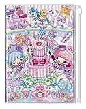 デルフィーノ 2017年 マンスリー手帳 サンリオ キキ&ララ×エコネコ ケーキ 9月始まり B6サイズ SA-35596