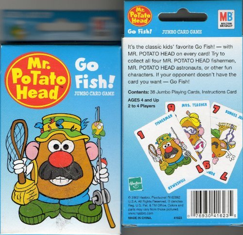 Mr. Potato Head Go Fish! - 1