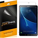 [3-Pack] Supershieldz for Samsung Galaxy Tab A 10.1 Screen Protector, Anti-Bubble High Definition Clear Shield + Lifetime Replacements Warranty (SM-T580/T587) (Color: HD Clear)