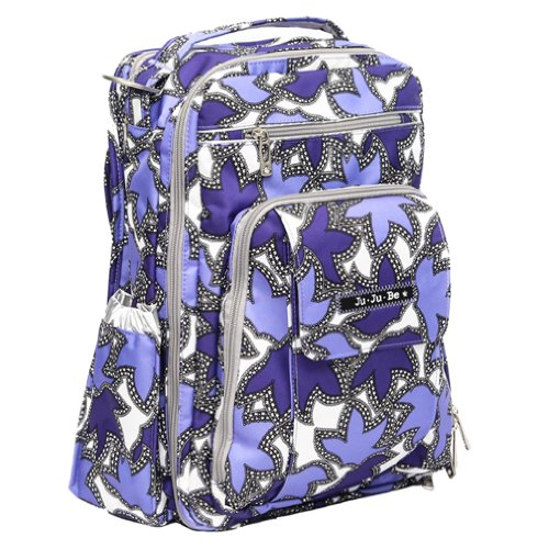 Ju-Ju-Be Be Right Back Backpack Style Diaper Bag - Lilac Lace - Purple/Lavender