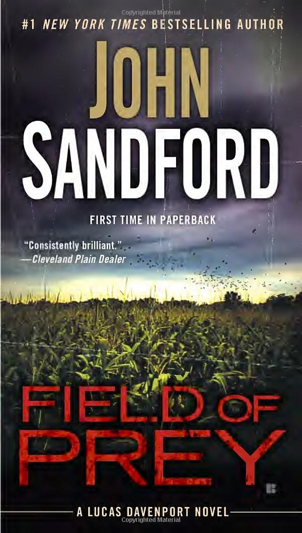 Field of Prey ISBN-13 9780425275115