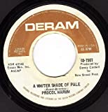A Whiter Shade Of Pale/Lime Street Blues (VG 45 rpm)