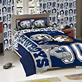 DALLAS COWBOYS NFL AND DISNEYS MICKEY MOUSE FULL SIZED COMFORTER WITH SHAMS