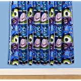 "Disney Monsters Inc University 72"" Curtains"