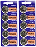 Sony CR2032 Lithium 3V Batteries (2 x...