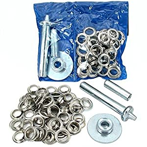 Tarp Tent Awning Repair Grommet Install Tool Kit 206 Pc