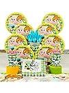 Disney Frozen Fever Elsa   Anna Olaf Deluxe Party Kit for 8