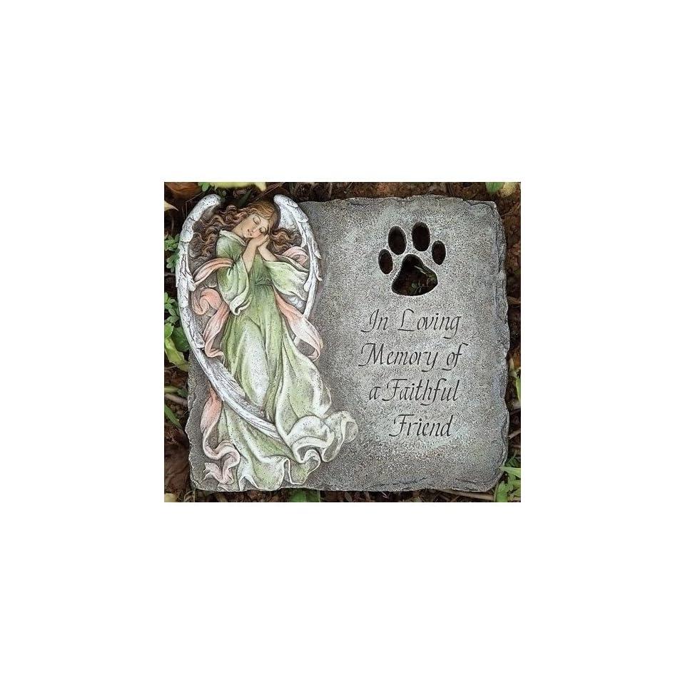 Pet Memorial Garden Stone Loving Memory of a Faithful