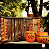 Unravel India Antique Look Wooden Tray best price on Amazon @ Rs. 699