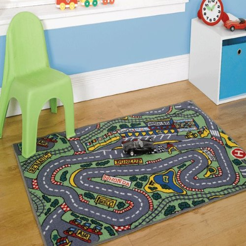 Deals For Childrens Formula One Playmat Roadmap Toy Cars Hot Wheels