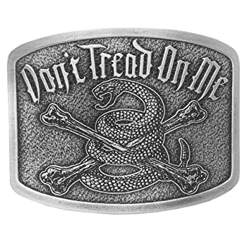 "Dont Tread On Me Brand ""War Cry"" Vintage Belt Buckle DTOM Accessories"