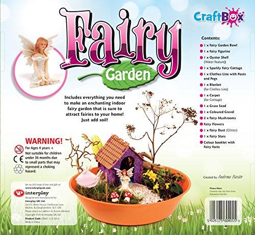 Craft box fairy garden crea il tuo giardino magico da fiaba for Crea il tuo giardino