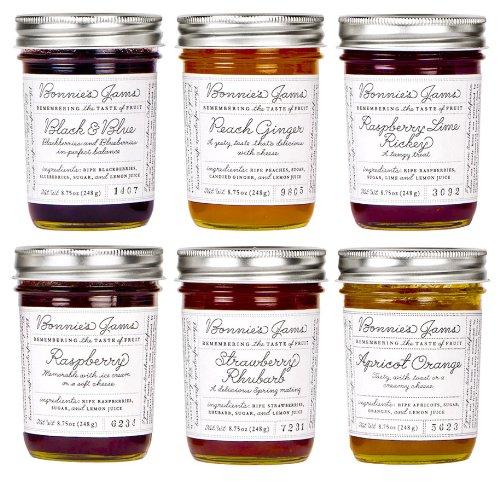 Bonnie's Jams Gift Pack, 6 Jars