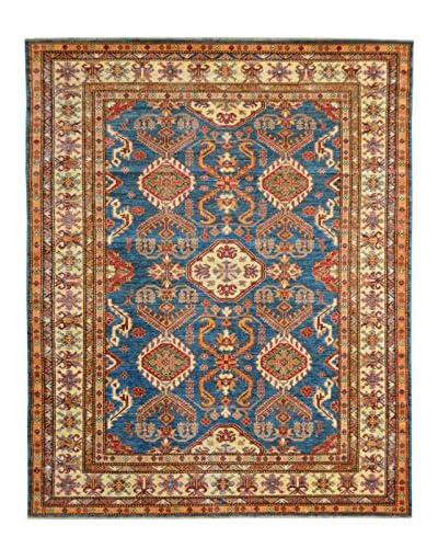 Kalaty One-of-a-Kind Kazak Rug, Blue, 5' 10 x 8' 1