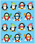 Penguins Shape Stickers