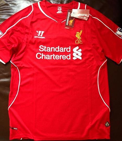 2014-15 Liverpool Home Shirt (Gerrard 8)