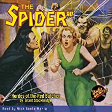 Spider #21 June 1935 Audiobook by Grant Stockbridge,  RadioArchives.com Narrated by Nick Santa Maria