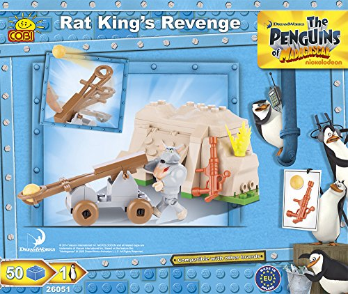 COBI The Penguins of Madagascar Rat King's Revenge Building Kit