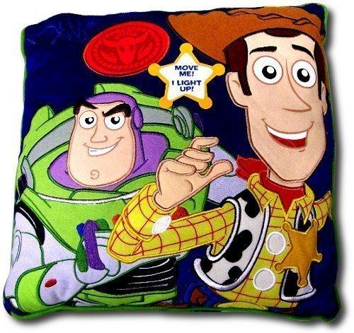 Disney Toy Story Led Light-Up Decorative Pillow By Jay Franco