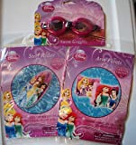 Disney Princess Swim Goggles, Arm Floats & Surf Rider