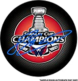 Devante Smith-Pelly Washington Capitals 2018 Stanley Cup Champions Autographed Stanley Cup Champions Logo Hockey Puck - Fanatics Authentic Certified