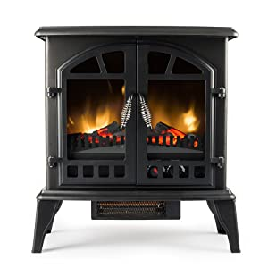 <strong>Jasper Freestanding Electric Fireplace Stove</strong> width=