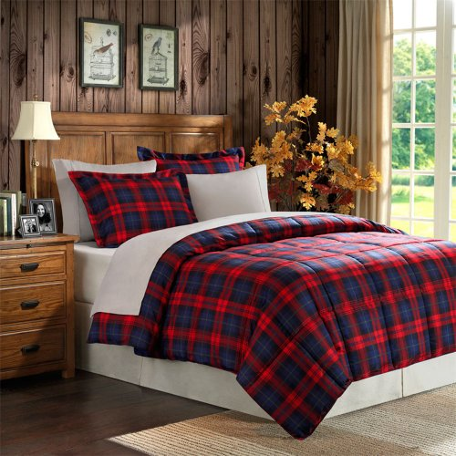 Premier Comfort MacLachlan Plaid Down Alternative