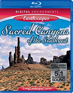 Living Landscapes: Earthscapes - Sacred Canyons of the Southwest [Blu-ray]