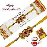 Rajlaxmi Designer Moli Single Rakhi