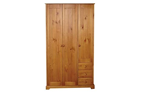 LPD Baltic 3 Door + 3 Drawer Wardrobe