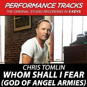 Whom Shall I Fear (God Of Angel Armies) EP (Performance Tracks)