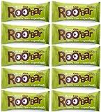ROO'BAR Hanfprotein & Chia 50 g x 10 Stück - Rohkost-Riegel...