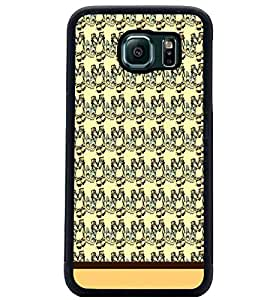PrintDhaba Pattern D-1739 Back Case Cover for SAMSUNG GALAXY S6 EDGE (Multi-Coloured)
