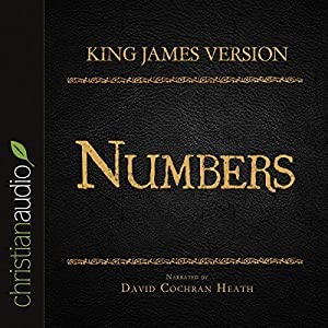 Holy Bible in Audio - King James Version: Numbers Audiobook