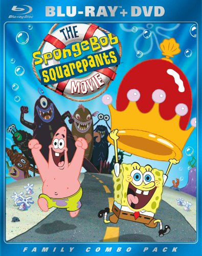61bACVbboiL The SpongeBob SquarePants Movie (Two Disc Blu ray/DVD Combo)