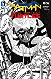 img - for Batman Teenage Mutant Ninja Turtles #1 Newbury Comics Mike Allred Exclusive Black and White Variant Cover book / textbook / text book