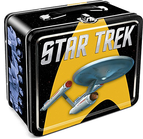 Aquarius Star Trek Enterprise Tin Large Tin Fun Box (Star Trek Lunch Box compare prices)