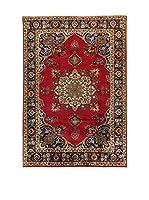 L'EDEN DEL TAPPETO Alfombra M.Tabriz Rojo/Multicolor 194 x 293 cm
