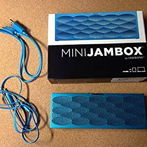Jawbone MINI JAMBOX ワイヤレス Bluetooth スマートスピーカー アクアスケール ALP-MJAM-AS