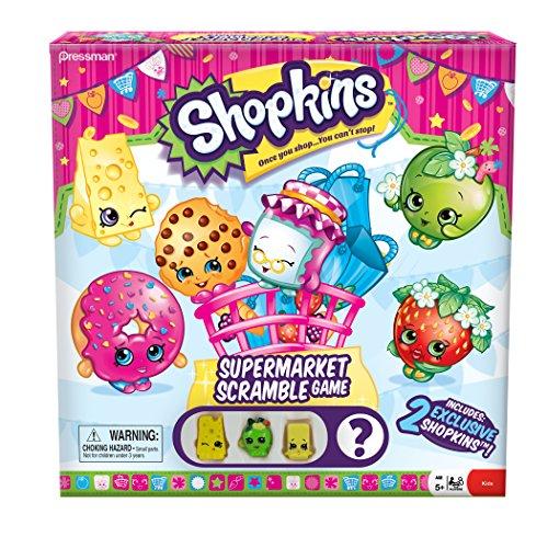 Shopkins Supermarket Scramble Board Game JungleDealsBlog.com