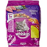 Whiskas Adult Cat Food Pocket Mackerel, 3kg Pack