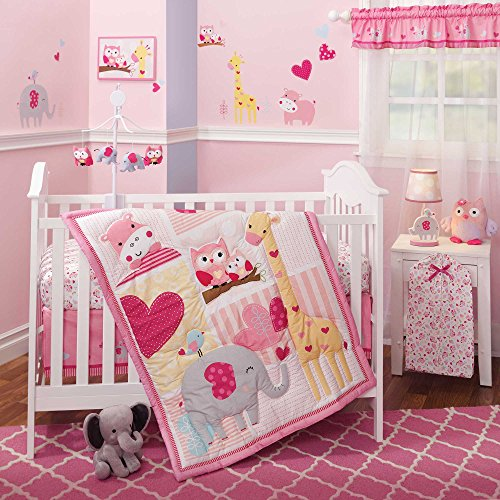 Superb  Jungle Piece Baby Crib Bedding