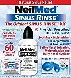 NeilMed SinusRinse Saline Nasal Rinse Kit 60 Sachets