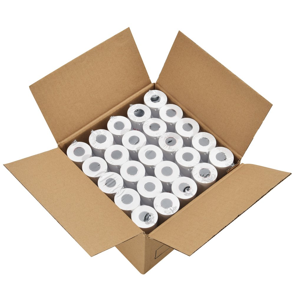 "MFLABEL 2 1/4"" x 50 Thermal Paper Cash Register POS Receipt Paper (50 Rolls)"