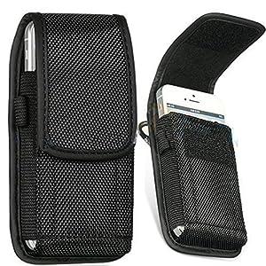 et Passant Ceinture Velcro Nylon Pochette pour Samsung Galaxy