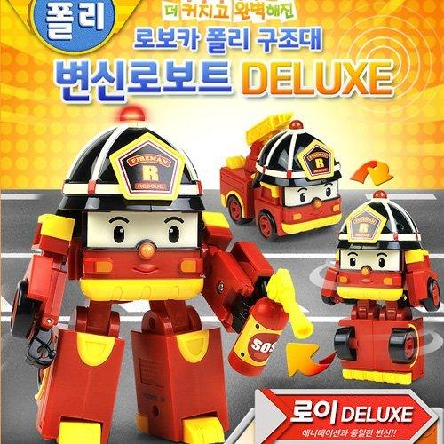 Robocar Poli Deluxe Transformer Toy - Roi
