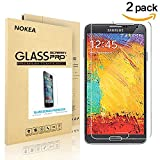 Image of [2 PACK] Samsung Galaxy Note 3 Screen Protector, NOKEA [9H Hardness] [Crystal Clear] [Easy Bubble-Free Installation] [Scratch Resist] Tempered Glass Screen Protector for Galaxy Note 3 (for Note 3)