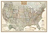 img - for United States Executive, Laminated: Wall Map   [MAP-US EXECUTIVE LAMINATED] [Other] book / textbook / text book