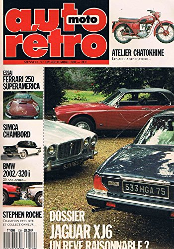 auto-moto-retro-n109-sep-1989-jaguar-xj6-ferrari-250-superamerica-simca-chambord-bmw2002-320i